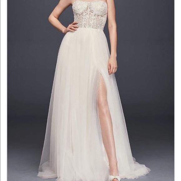 31 off davids bridal dresses skirts galina signature size 14 galina signature size 14 wedding dress junglespirit Images